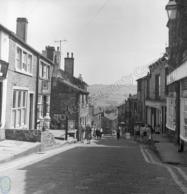 Haworth, Main Street, 1969